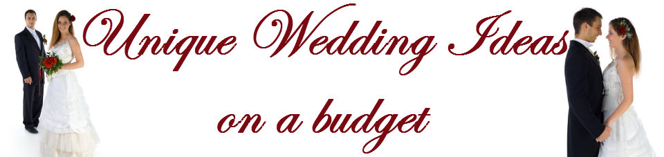 Unique Wedding Ideas on a Budget - ideas for an amazing wedding on a shoestring budget