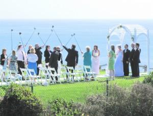 budget wedding ceremony